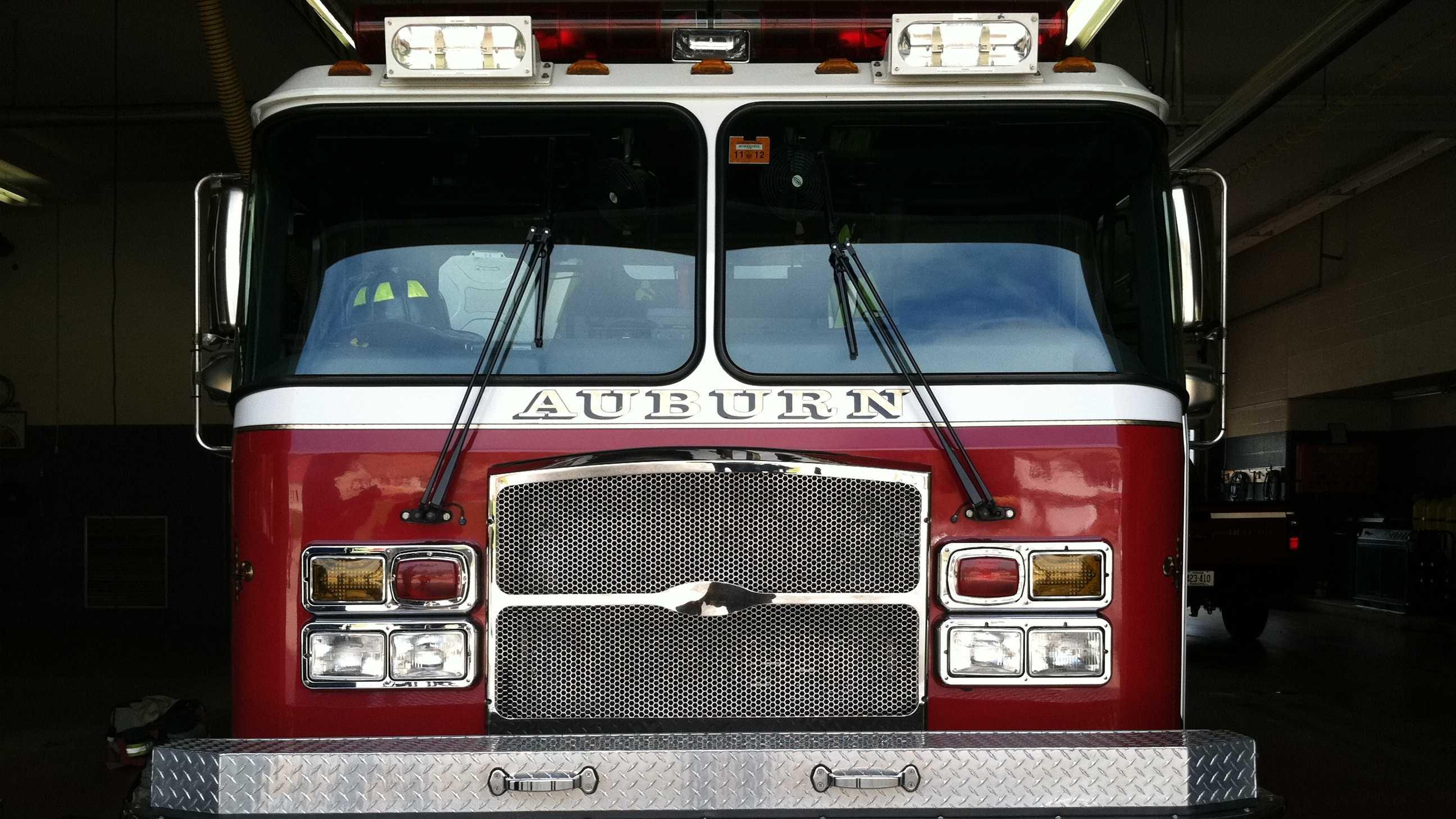 Auburn fire truck