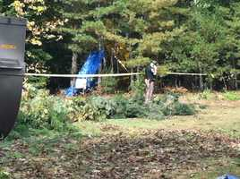 Two people have suffered minor injuries in a small plane crash in Lyman.