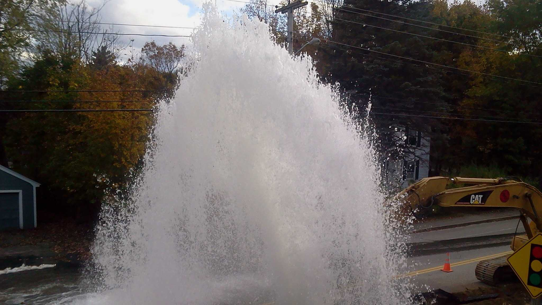 Auburn Water Main Break