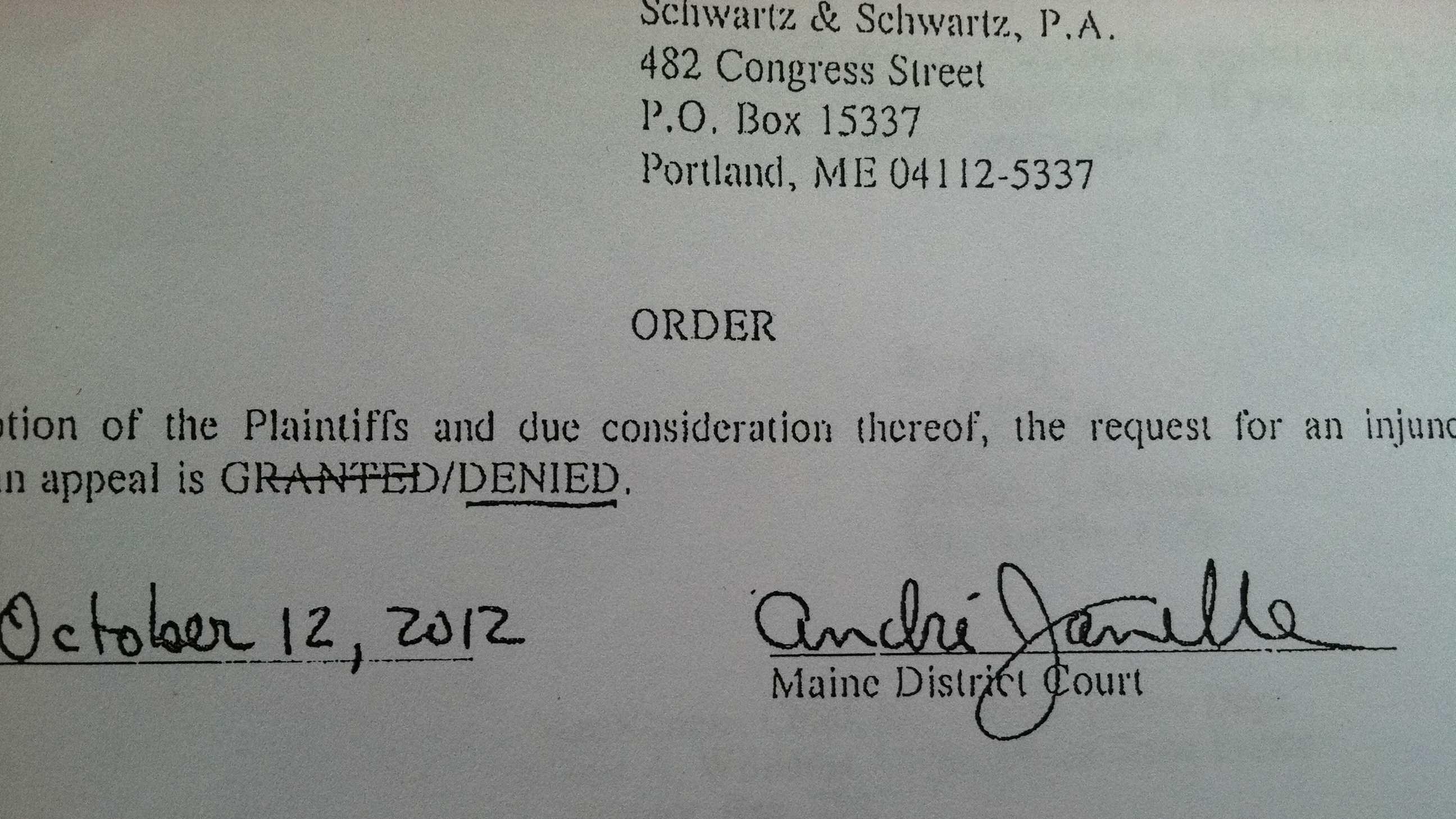 Prostitution appeal denied