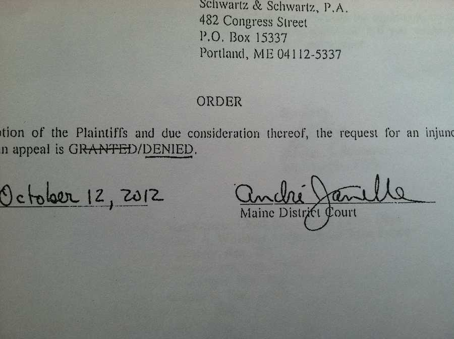 Oct. 12 A judge denies two separate requests to block the release of names on the alleged client list.