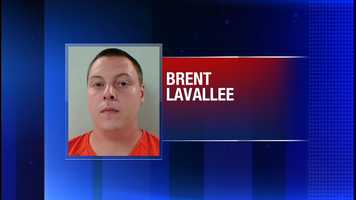Brent Lavallee is accused of punching a 4-year-old girl in the face and holding a blanket around her neck.