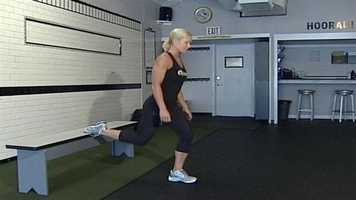 Tip 1: Joe Schact, of Dynamics Fitness in Portland, says using your body weight properly can help keep you keep fit without having to go to the gym. Click here to learn more.
