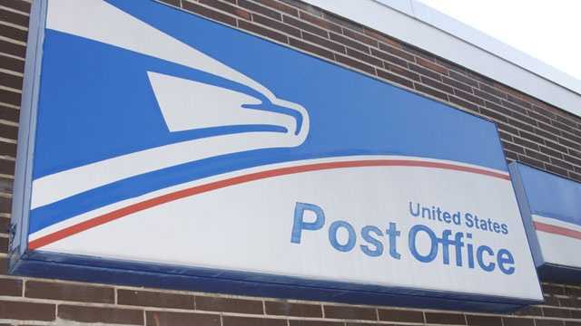 USPS sign, US Postal Service
