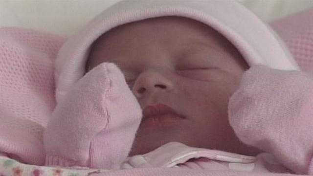 Baby born in car