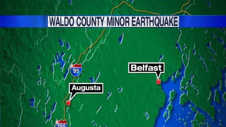 PORT Waldo County Earthquake
