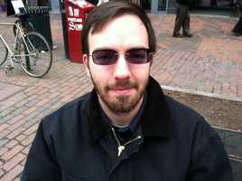 """Chris Parent of Portland, """"I would finish up school and try and start a company in the area."""""""