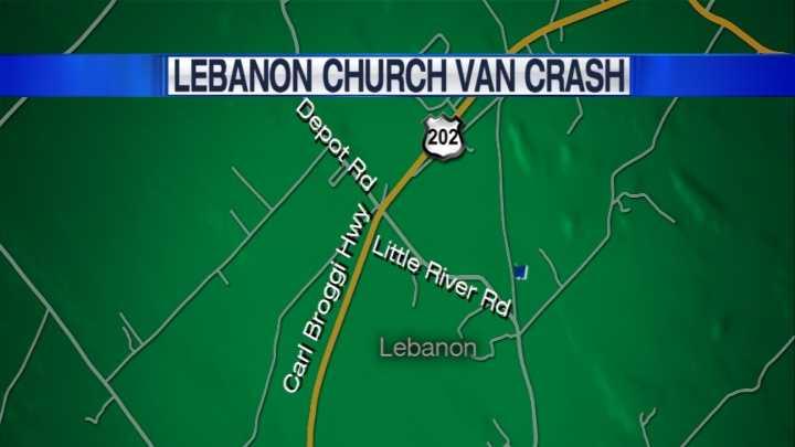 Lebanon Church Van crash