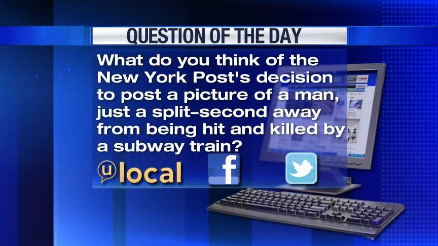 Question of the Day 12/06/2012