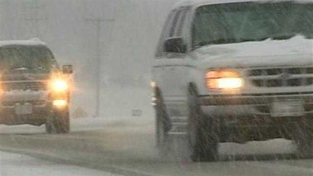 Snow, rain make comeback in Wisconsin