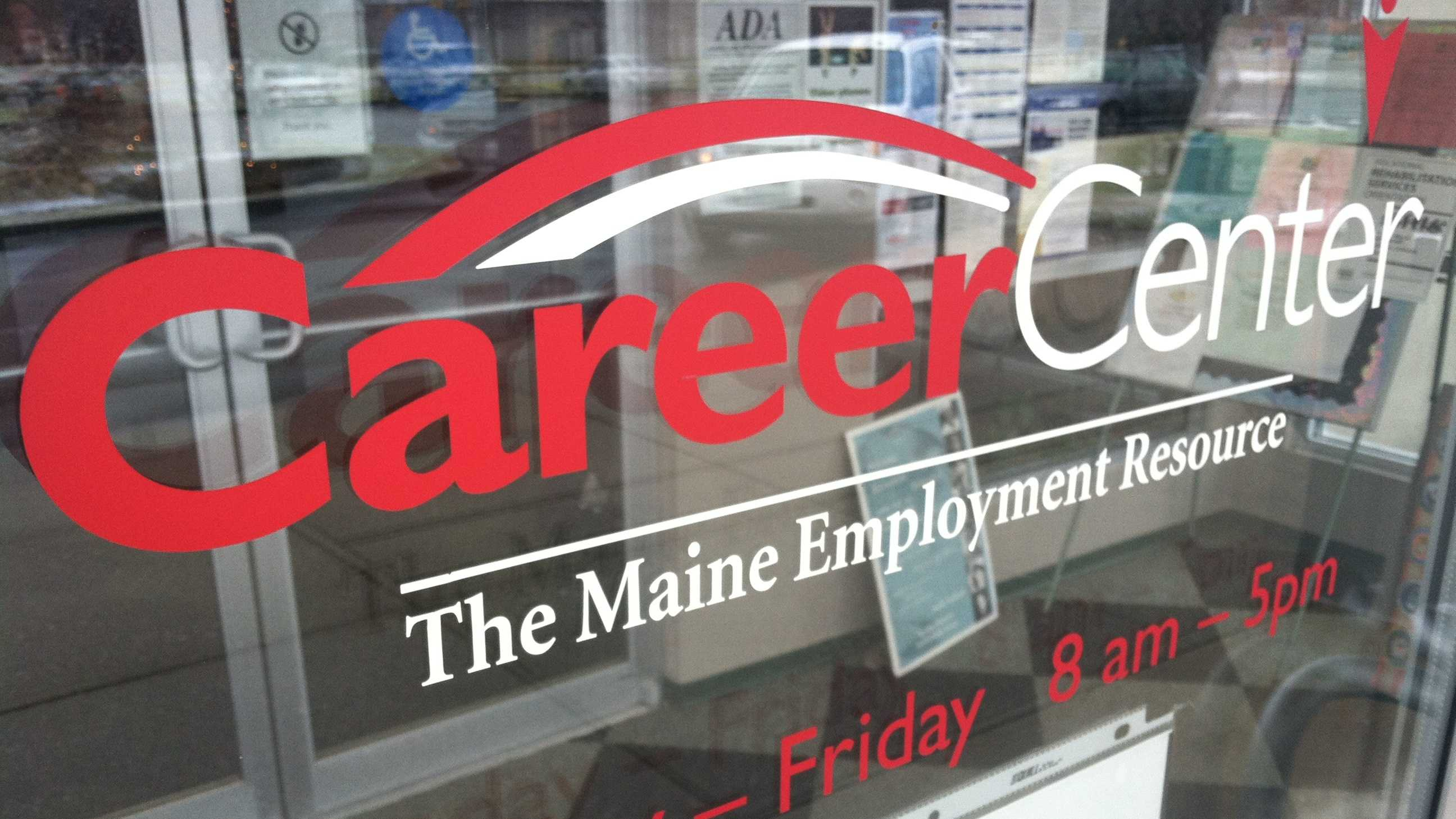 Career Center Sign