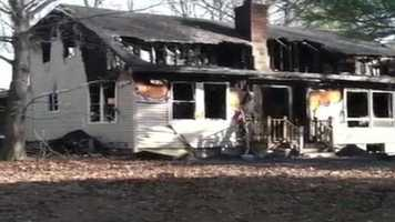 A father and his three children are killed in a fire at their home in Orrington.  There were no working smoke detectors.