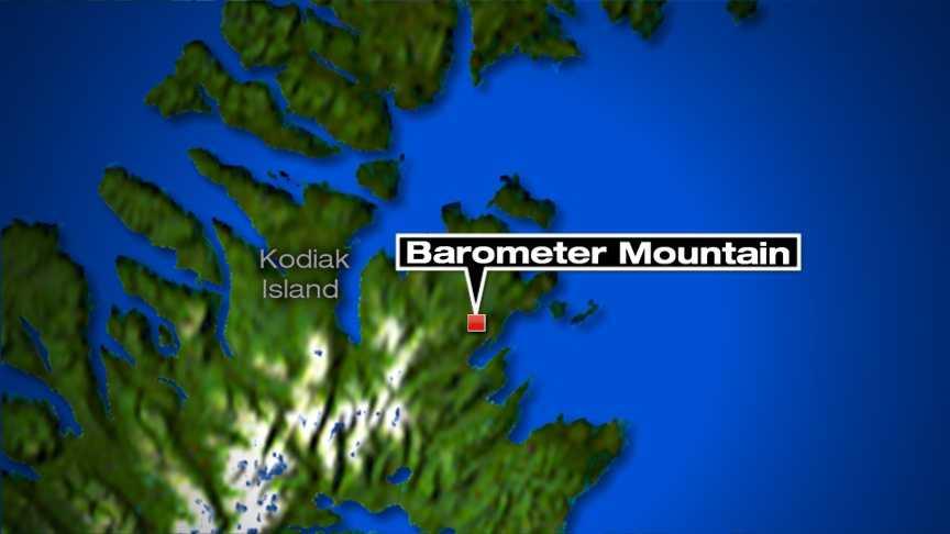 AK hiker dead map