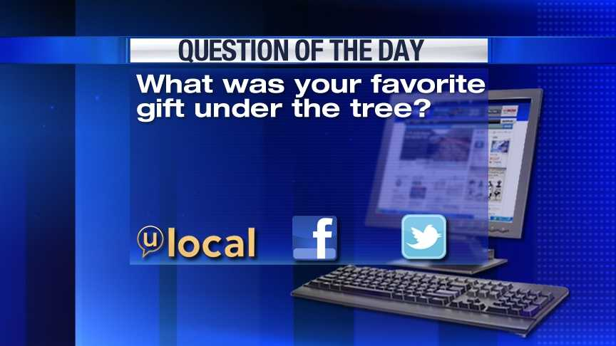 Question of the Day 12-26-12
