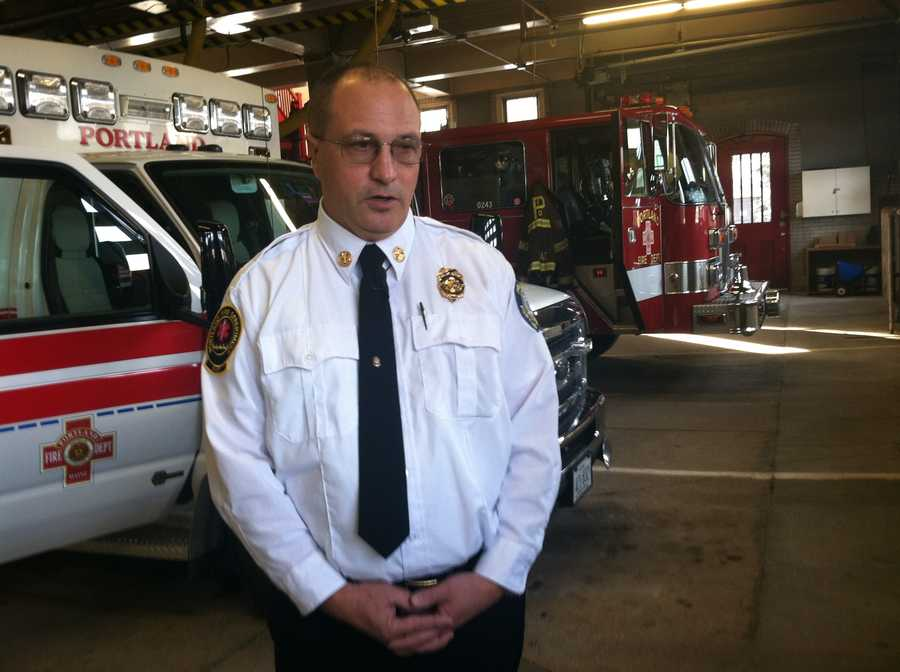 Jerome LaMoria will be sworn in Thursday as the 14th fire chief for the city of Portland.