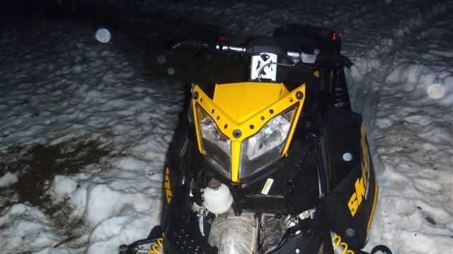 China snowmobile crash