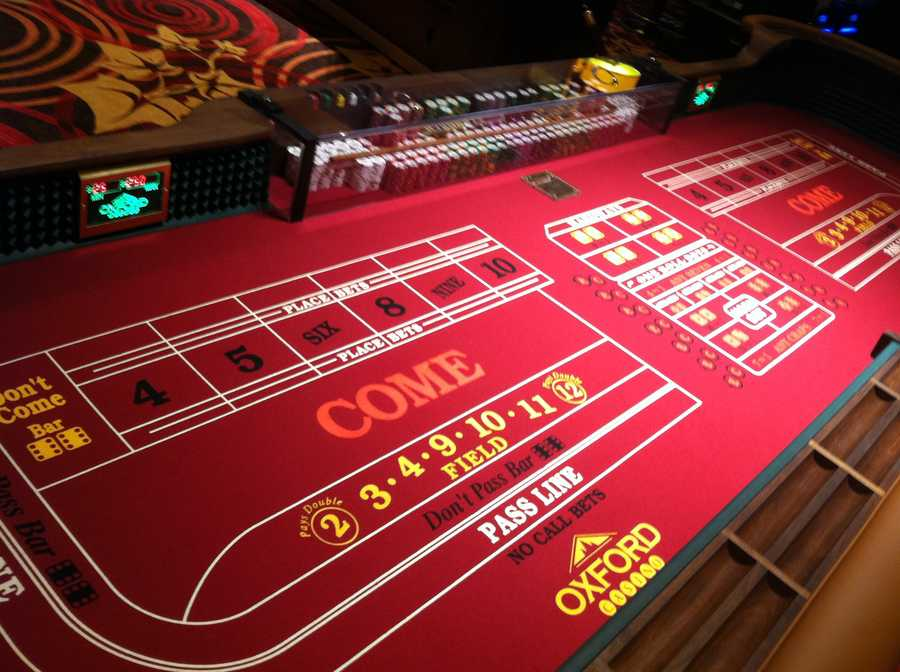 By the end of 2012, the Oxford Casino had increased its number of table games to 22 and its number of slot machines to 814.