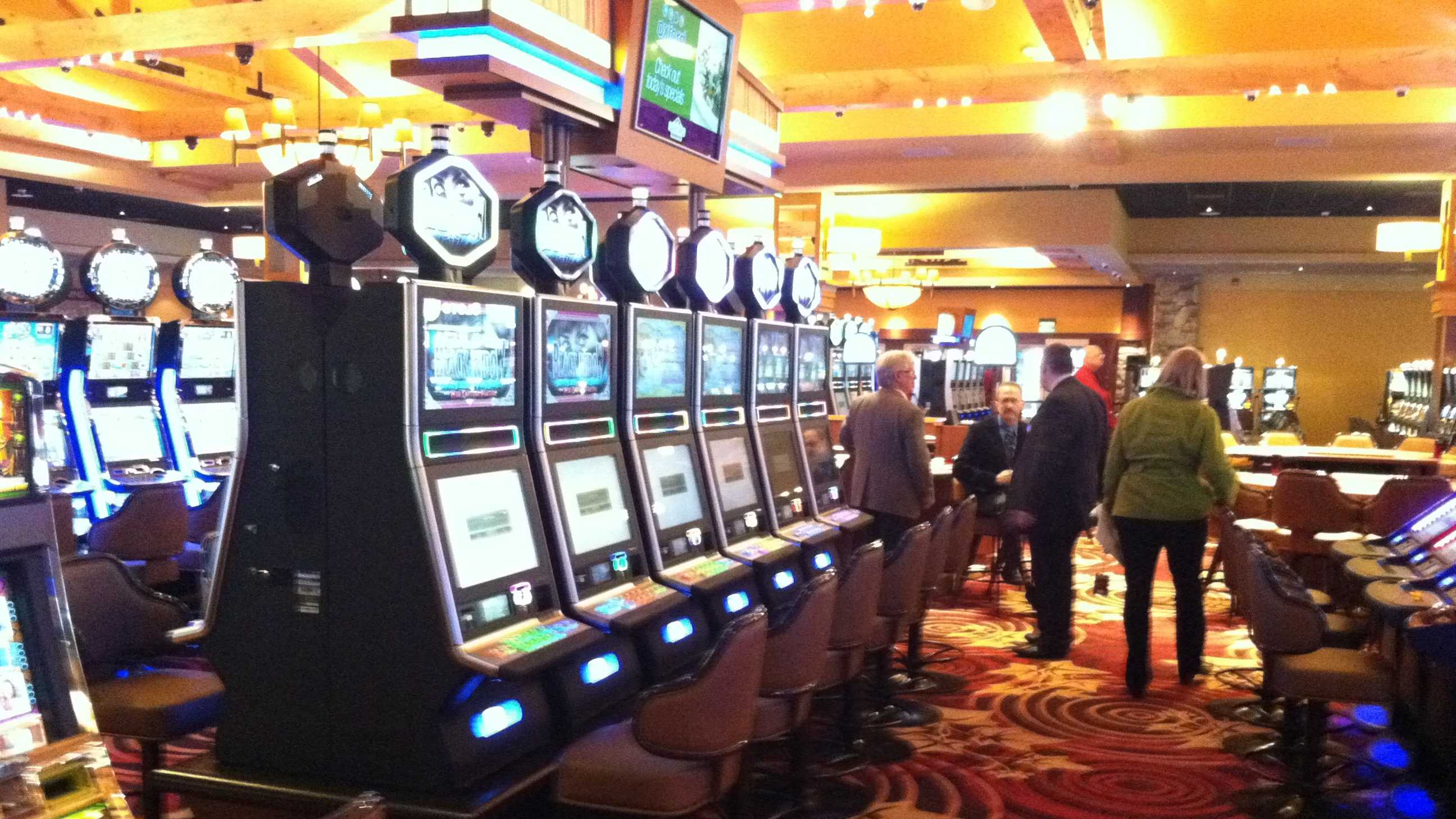 The Oxford Casino gives the state 46 percent of its net slot machine revenue.