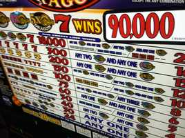 The best month for slot machines at the Oxford Casino in 2012 was August, when each of the 529 slot machines averaged a profit of more than $8,000.