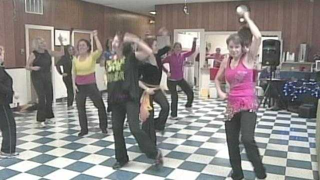 A group of Zumba instructors from Kennebunk are trying to seperate the prostituion scandal from the dance insprired fitness program