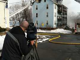 Augusta police and the Maine Fire Marshal's Office were on scene investigating the cause.