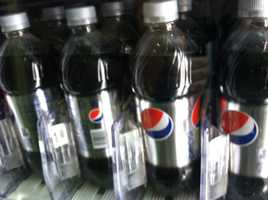 Diet Pepsi has a pH of 3