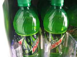 Mountain Dew has a pH of 3.3