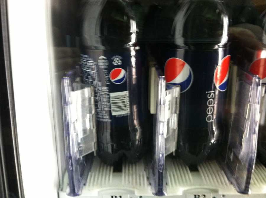 Pepsi has a pH of 2.5