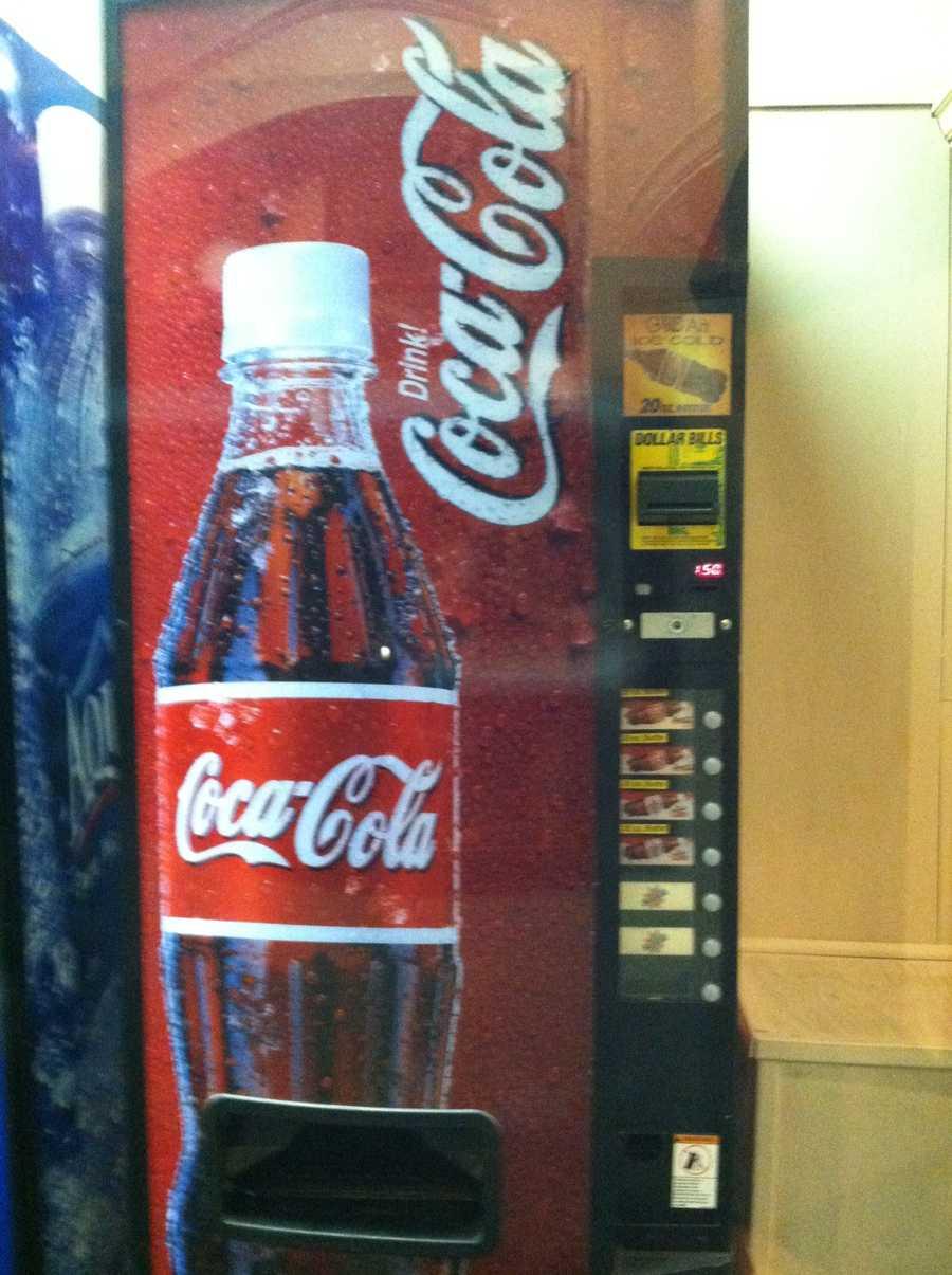 Coke has a pH of 2.4