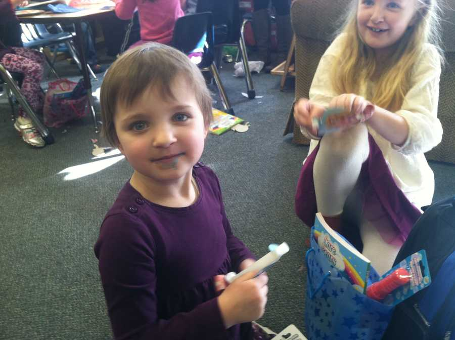 Make-A-Wish surprised a 4-year-old Portland girl and her class on Friday.