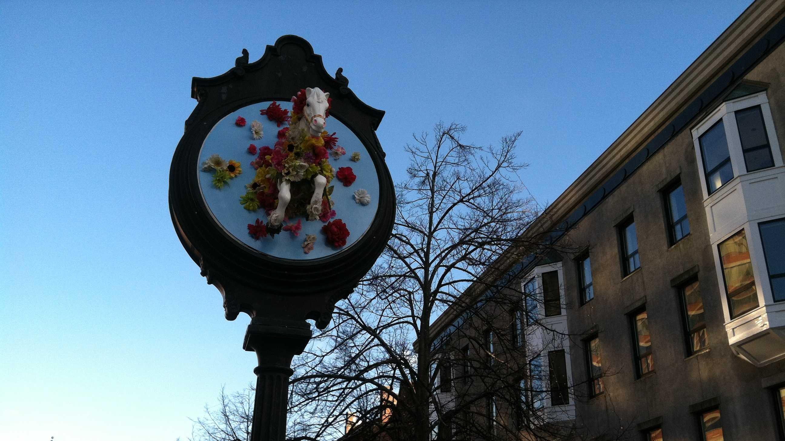 Portland Clock Art