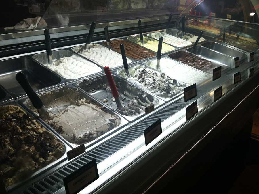 Gelato during a snowstorm anyone?