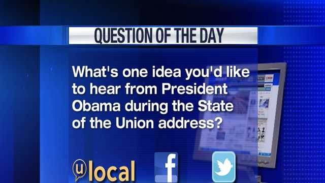 Question of the Day 2-12-13