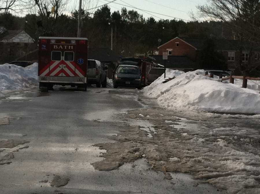 The State Fire Marshals office is on the scene investigating.