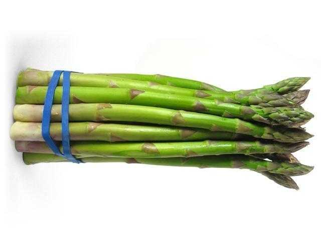 Frozen or canned asparagus can contain up to an average of 40 thrips, a tiny slender insect, per 100 grams.