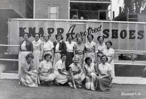 The women of Knapp Shoe in Lewiston