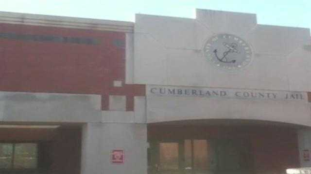 img-Police hold shakedown at Cumberland County Jail