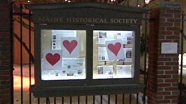 Each year, the number of paper hearts seems to grow as does speculation on who is behind the romantic gesture.