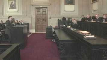 Feb. 13: The Maine Supreme Court hears arguments on the prosecution's appeal of the dismissal of charges.