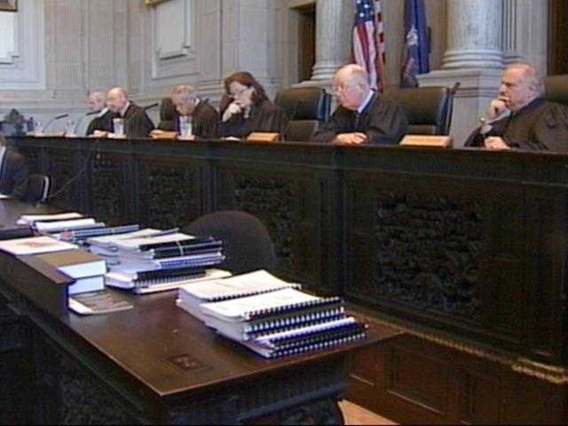 Feb. 15: The Maine Supreme Court upholds the decision to dismiss the 46 of 59 charges against Strong.