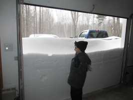 February 8-9, the powerful blizzard hit Maine, dumping a record amount of snow on Portland, and even more in other areas. Click here to see more pictures from the storm.