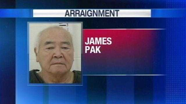 James Pak to be arraigned