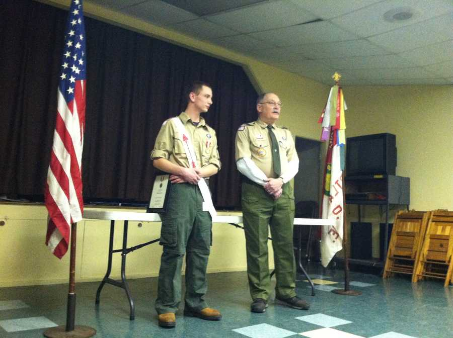The Boy Scouts of American honored a Portland teen on Thursday, giving him one of the organizations highest awards for bravery.