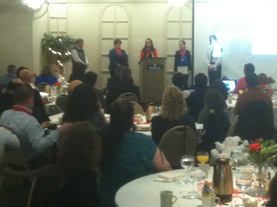 The American Red Cross held its annual Real Heroes Breakfast Tuesday morning in Lewiston.
