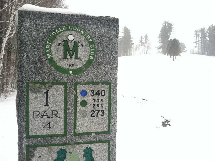 Martindale Golf Course in Auburn