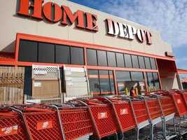 14: Home Depot employs 1,001-1,500 people across the state.