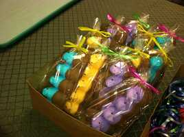 Easter candy at Wilbur's of Maine in Freeport
