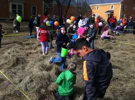 Wilbur's of Maine hosted an Easter egg hunt Saturday morning.