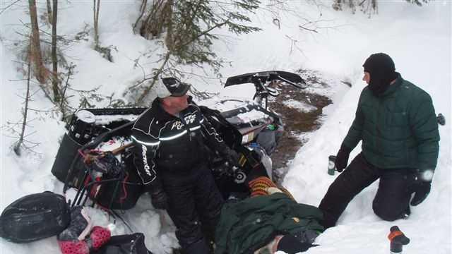 Snowbiler Rescued
