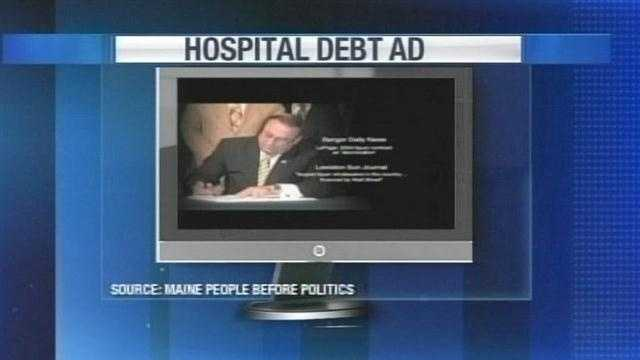 New ad urges support for LePage hospital plan